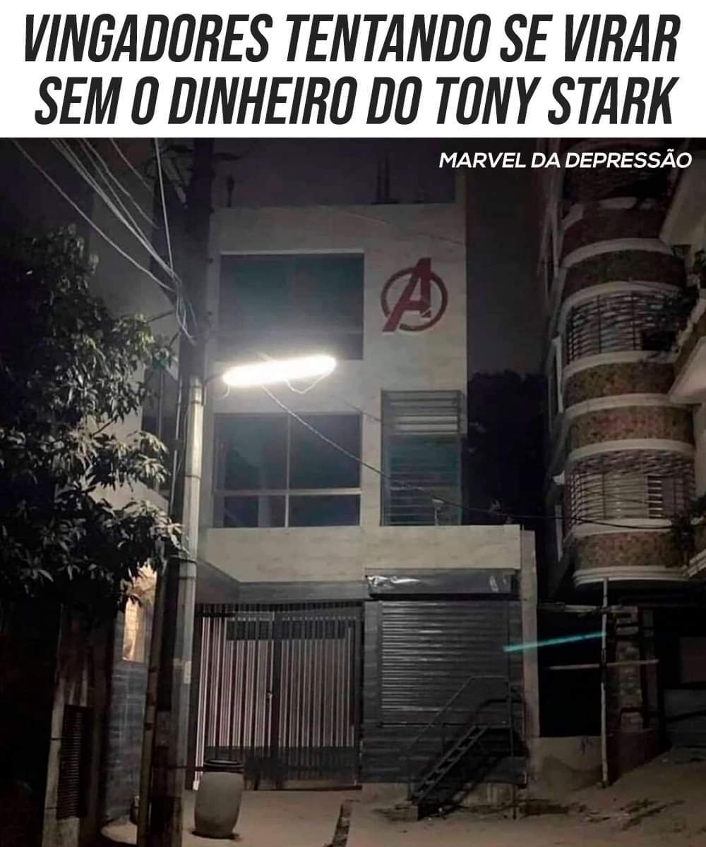 F para o Tony - meme