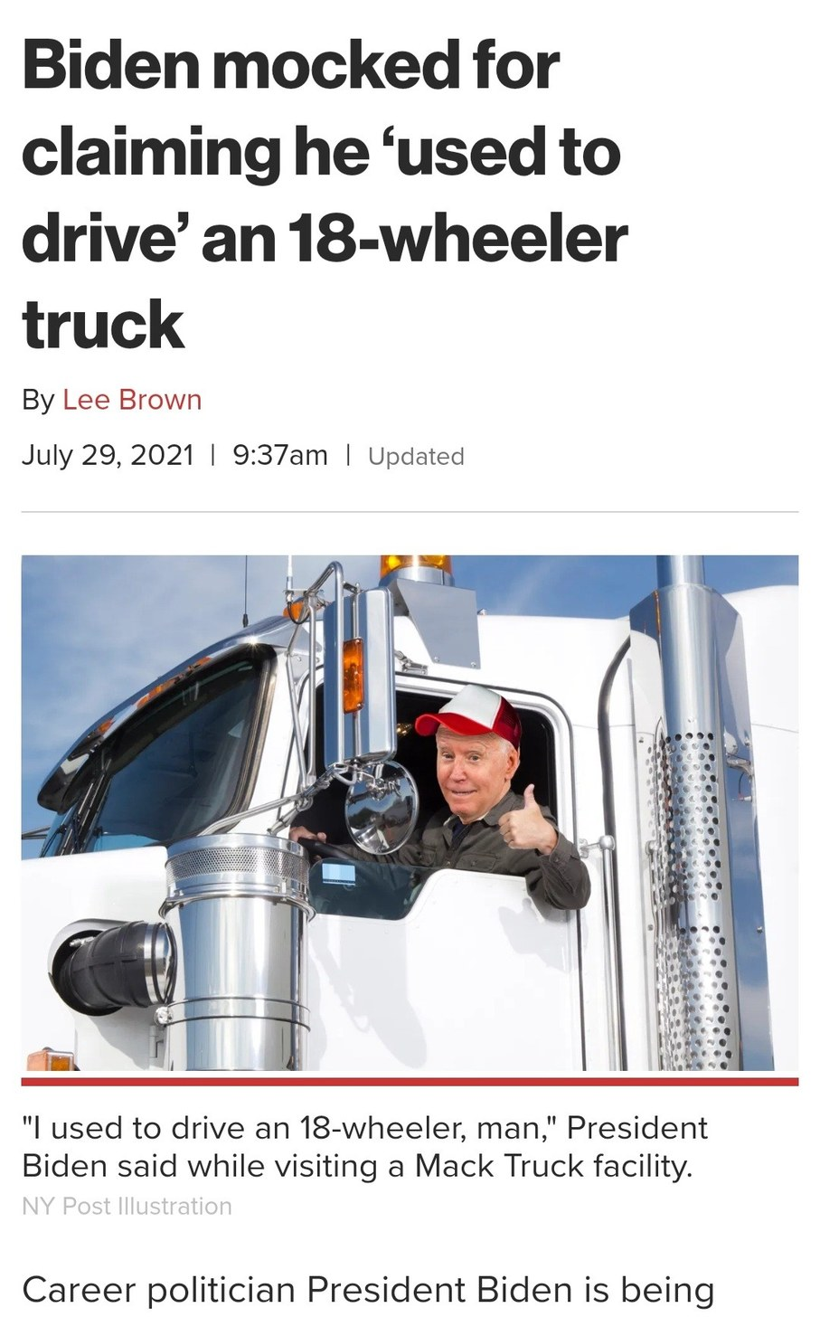 He totally drove for Swift - meme