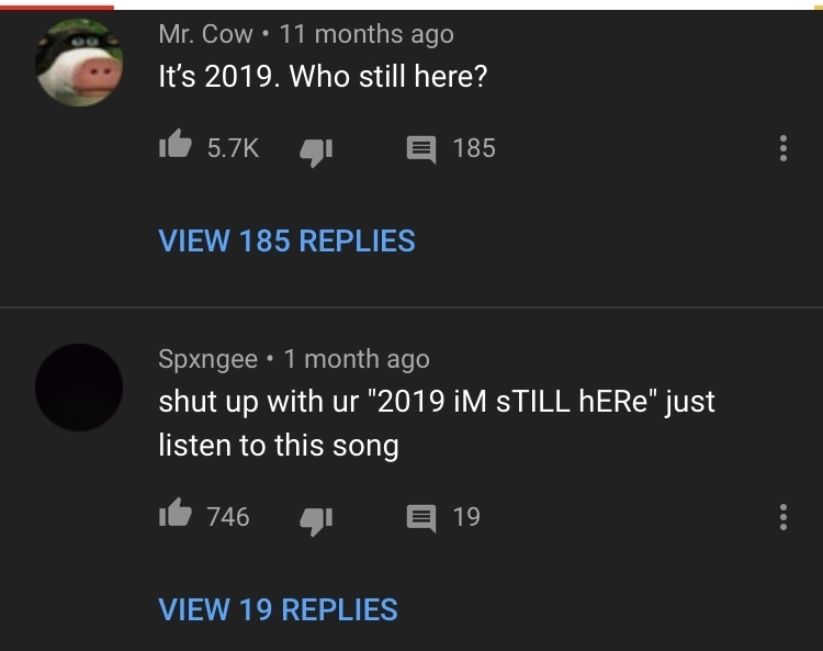 it wasn't even in the reply section - meme