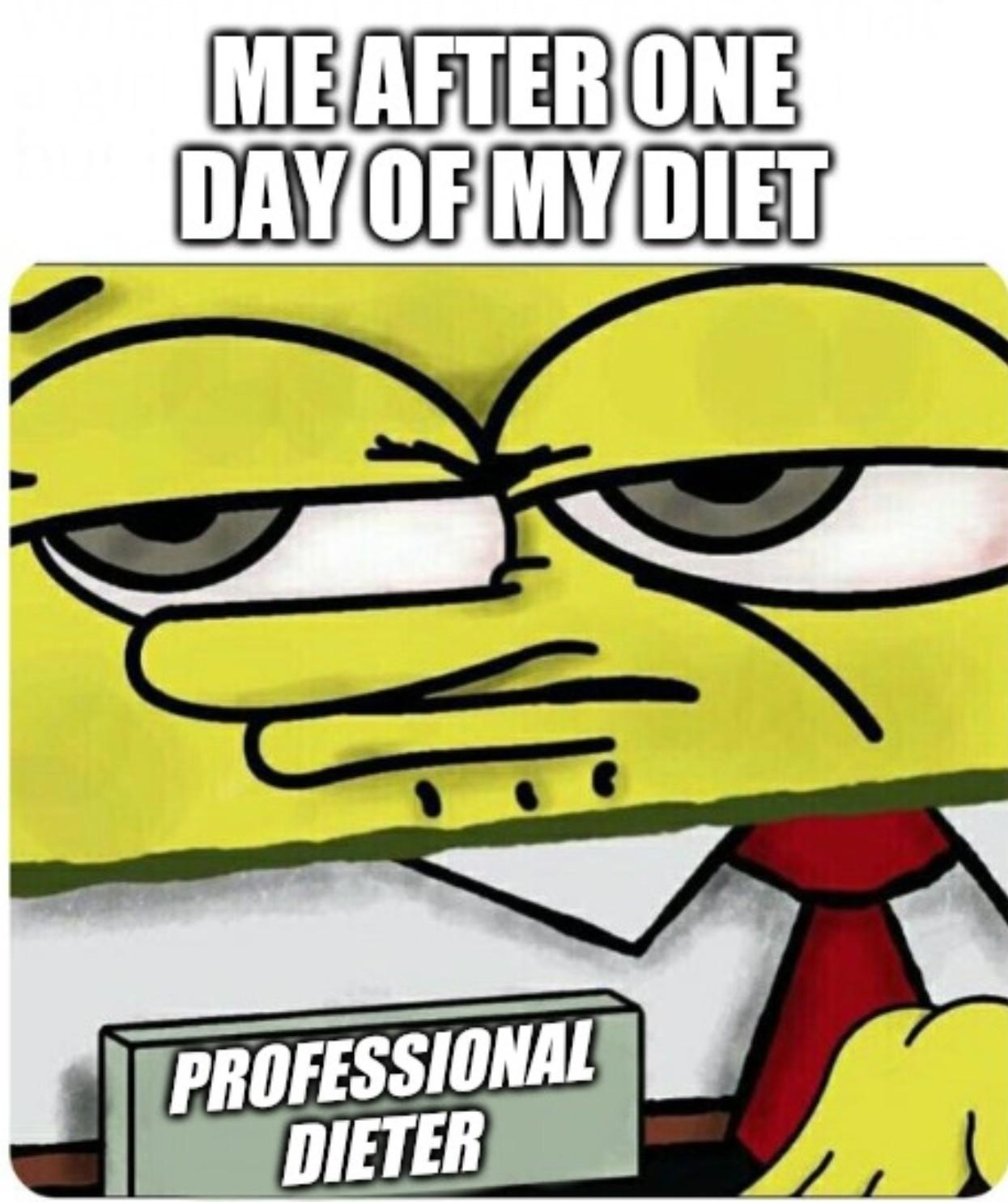 Professional dietet - meme