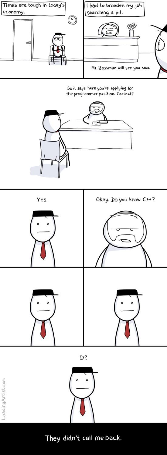 c++ = D? - meme