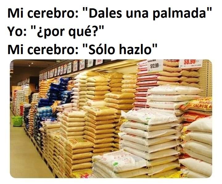 INCHE CEREBRO.. - meme