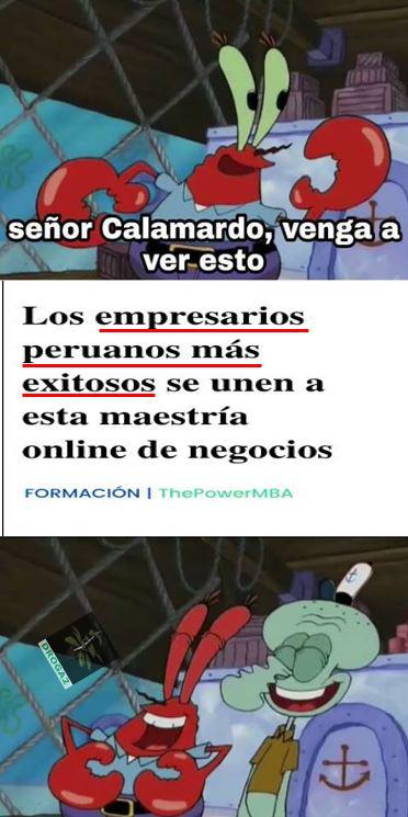 No hay peruanos exitosos - meme