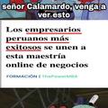 No hay peruanos exitosos