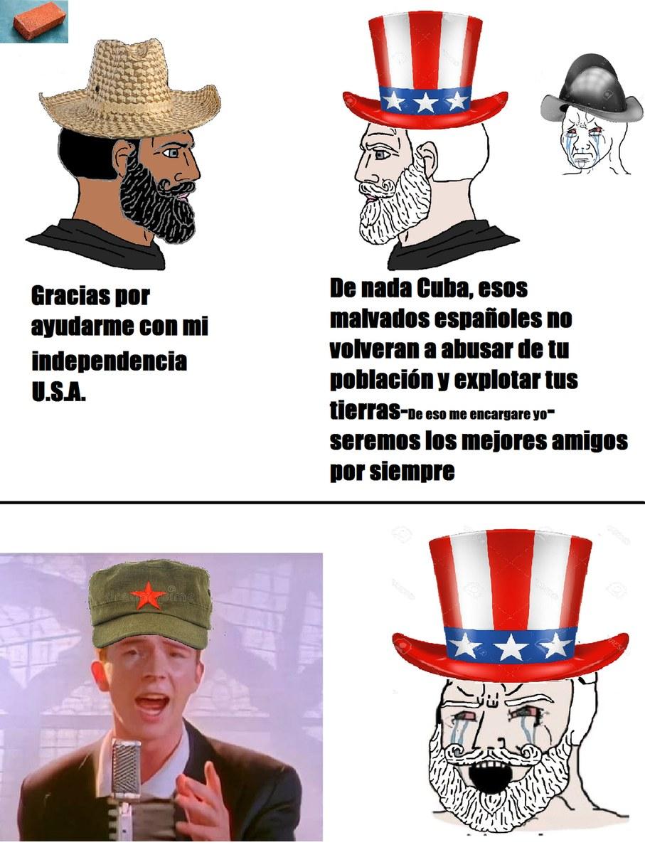 Los sombreros  hacen al hombre. jpg - meme