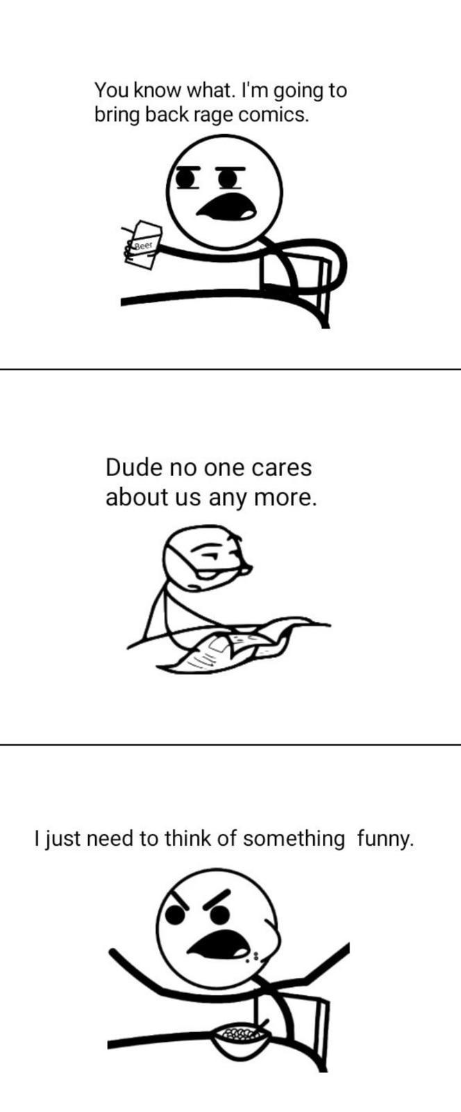 Bring back rage comics - meme