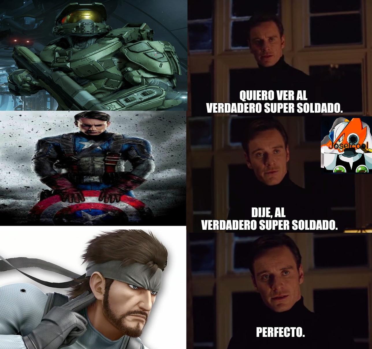 Solid Snake - meme