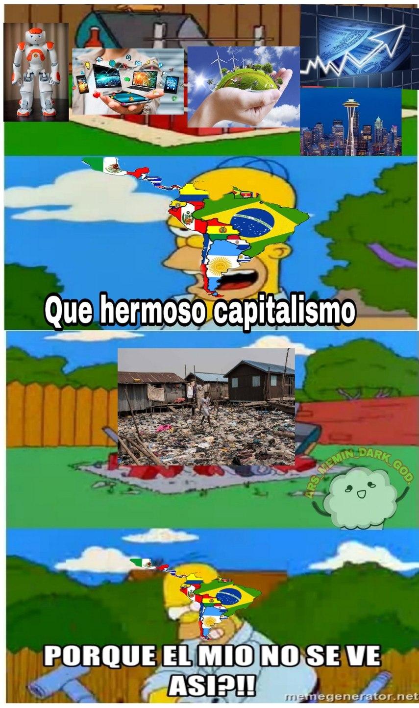 Esque andamos en un capitalismo keynesiano o algo así xD - meme