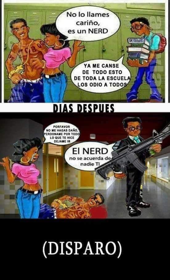 El nerd no se acuerda - meme