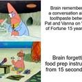 Brains are weird