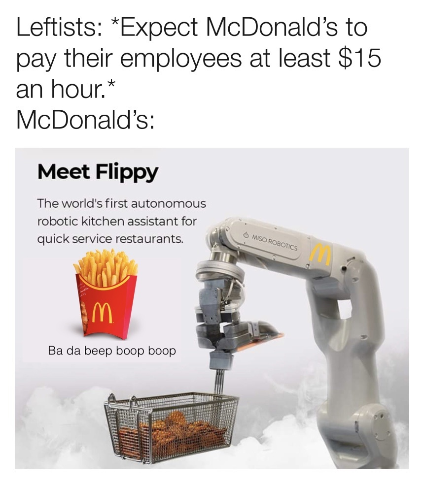Minimum wage shouldn't be a federal issue - meme