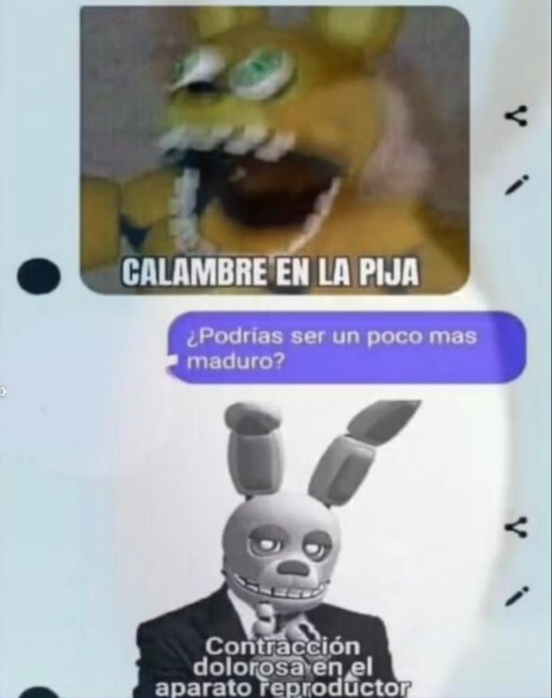Calambre - meme