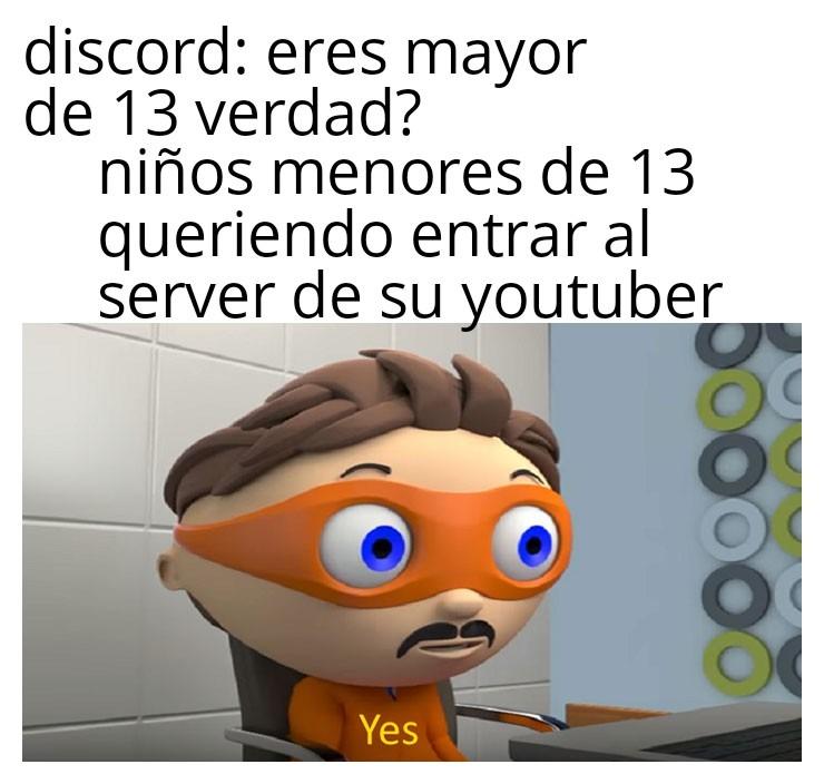 Discord in a nutshell - meme