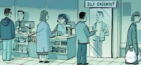 Self Checkout - meme