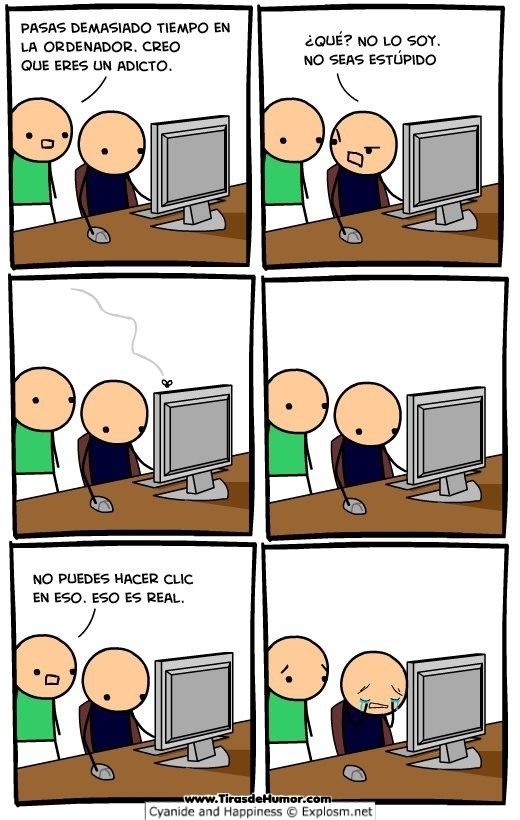 ordenador muy malo - meme