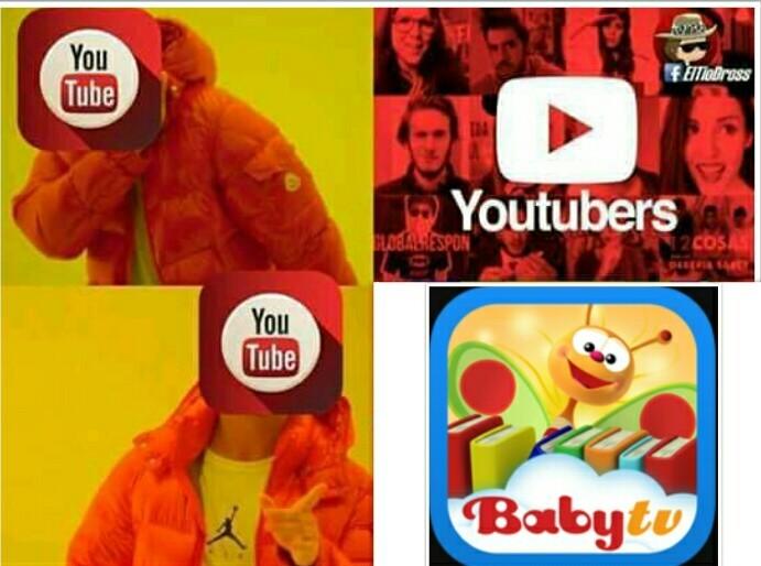Pues ahora no les hace falta YouTube Kids - meme