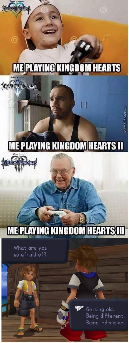 Kingdom Hearts - meme