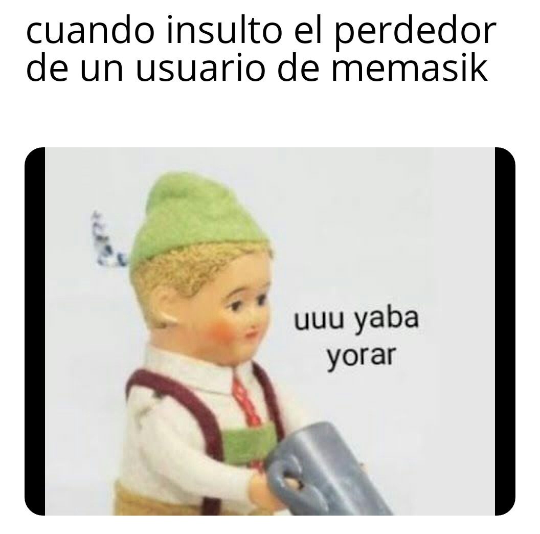 Memasik es una popo - meme