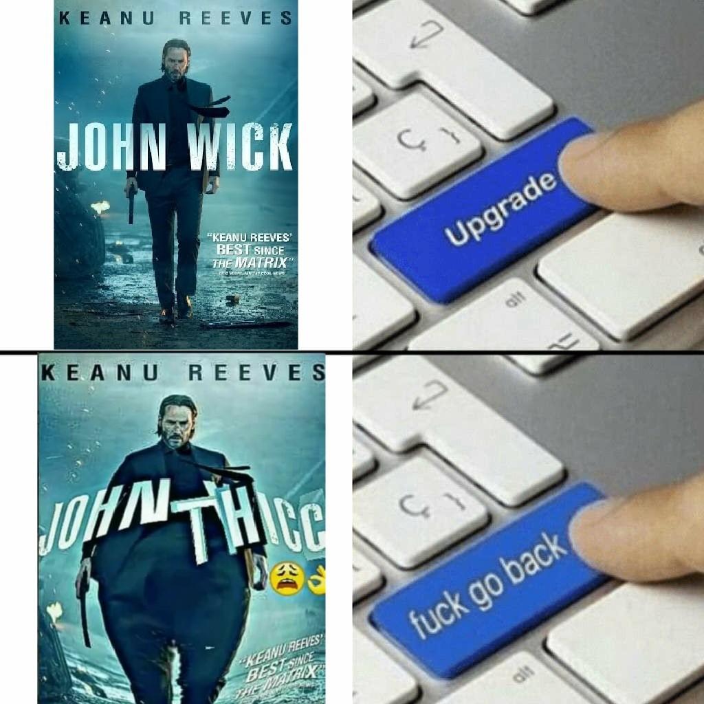 T H I C C - meme