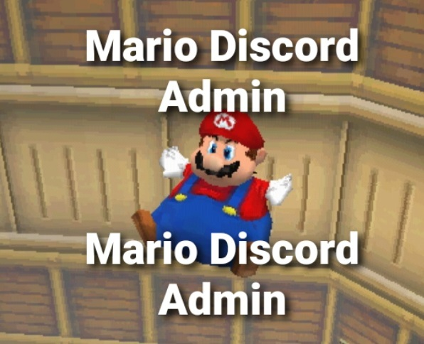 Mario Discord Admin - meme