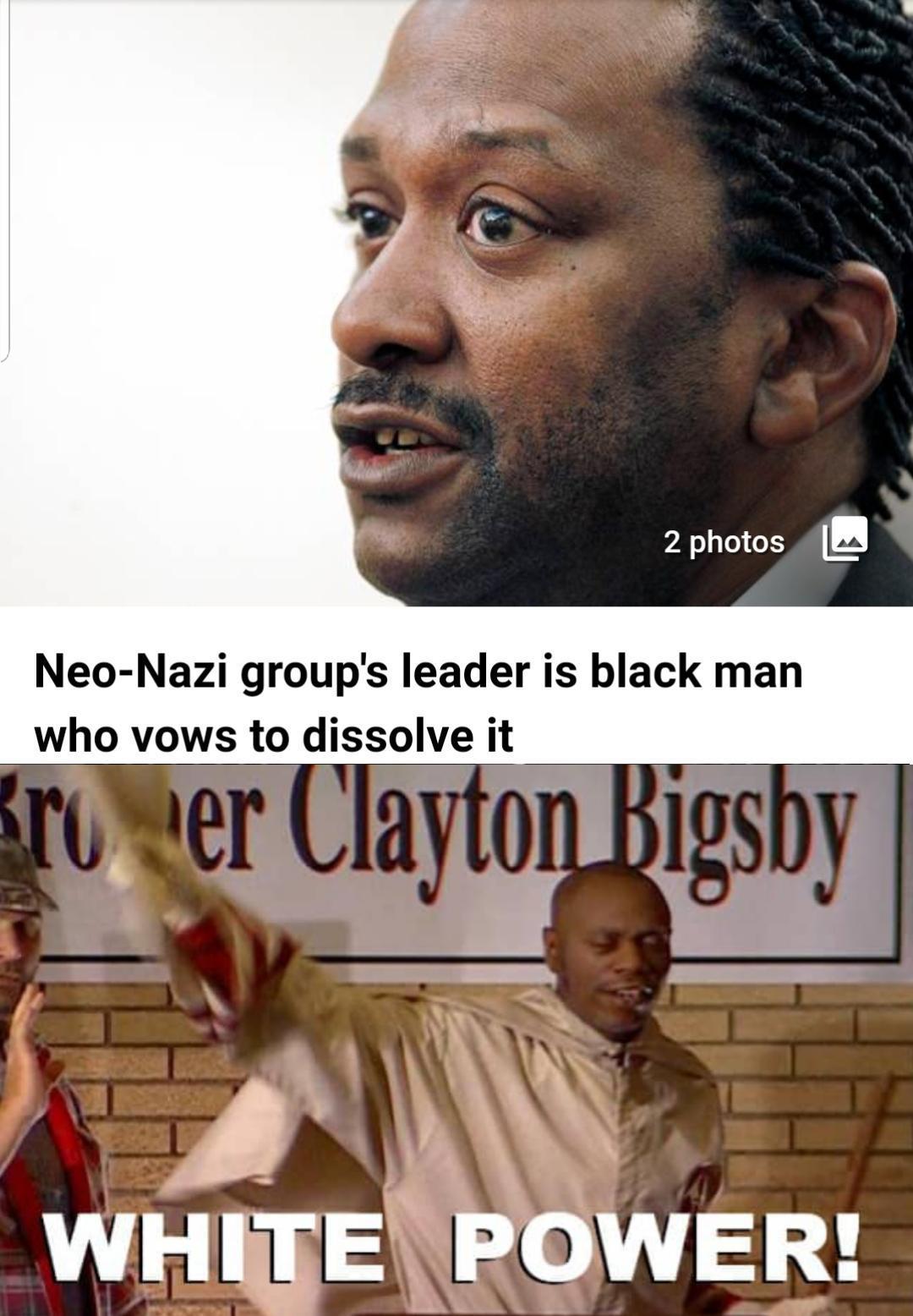 I am a white man now - meme