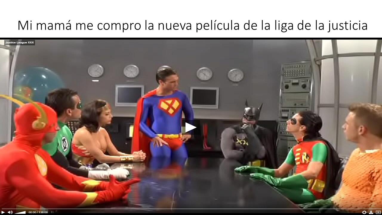 Nueva película justice league - meme