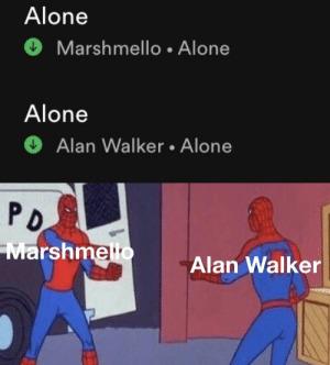 Una es de Joytime y La otra es del World Of Walker - meme