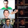 El protagonista de Atípico Sam hace de mejor Sheldon que el protagonista de el joven Sheldon (Sheldon Cooper)...