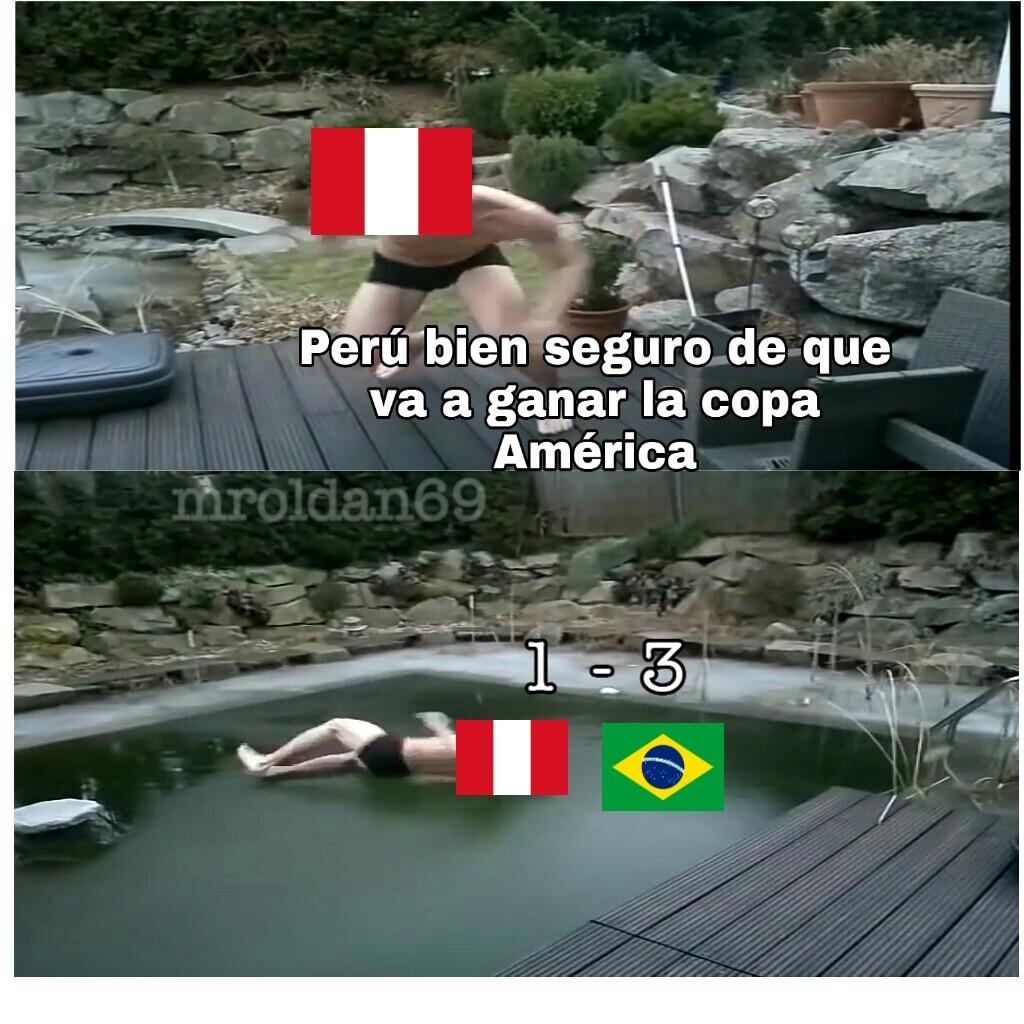Yo quería que ganará Perú :(( - meme