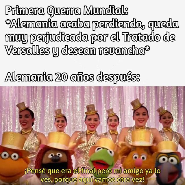 Plantilla de los Muppets xD - meme