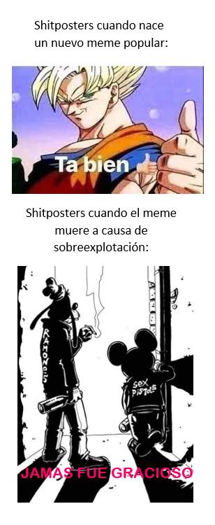 los chiposters básicos - meme
