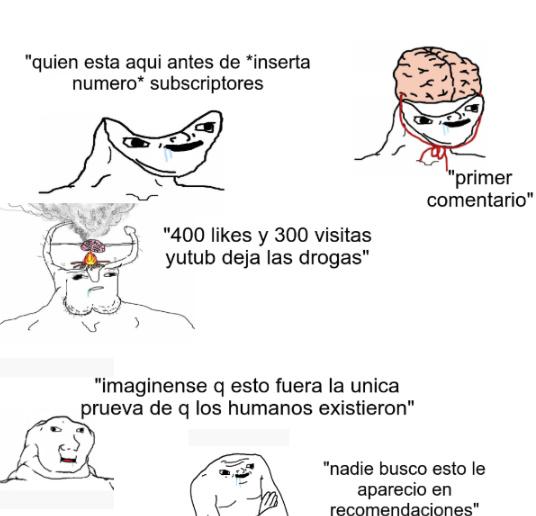 comentarios de youtube - meme