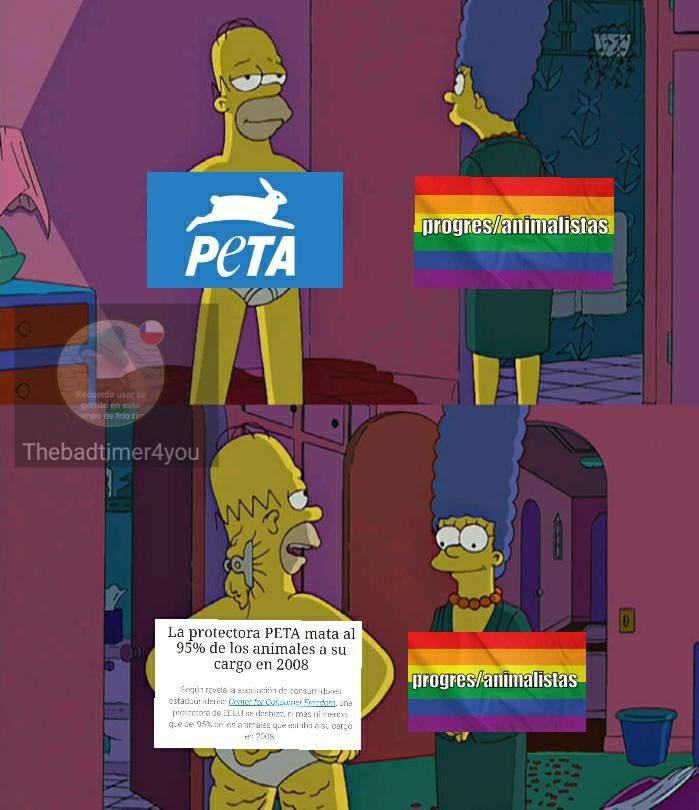 Hipócritas de mierda - meme