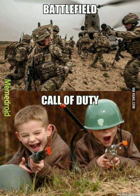 Gente preparaos para la era Battlefield - meme