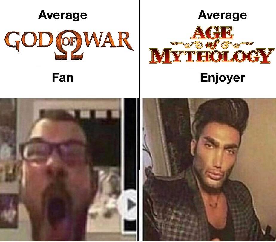 Juegos de Mitología. - meme