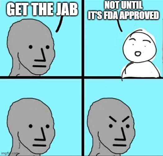 Imagine being a statist - meme
