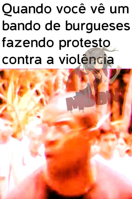 Bando de Burgues Safados - meme