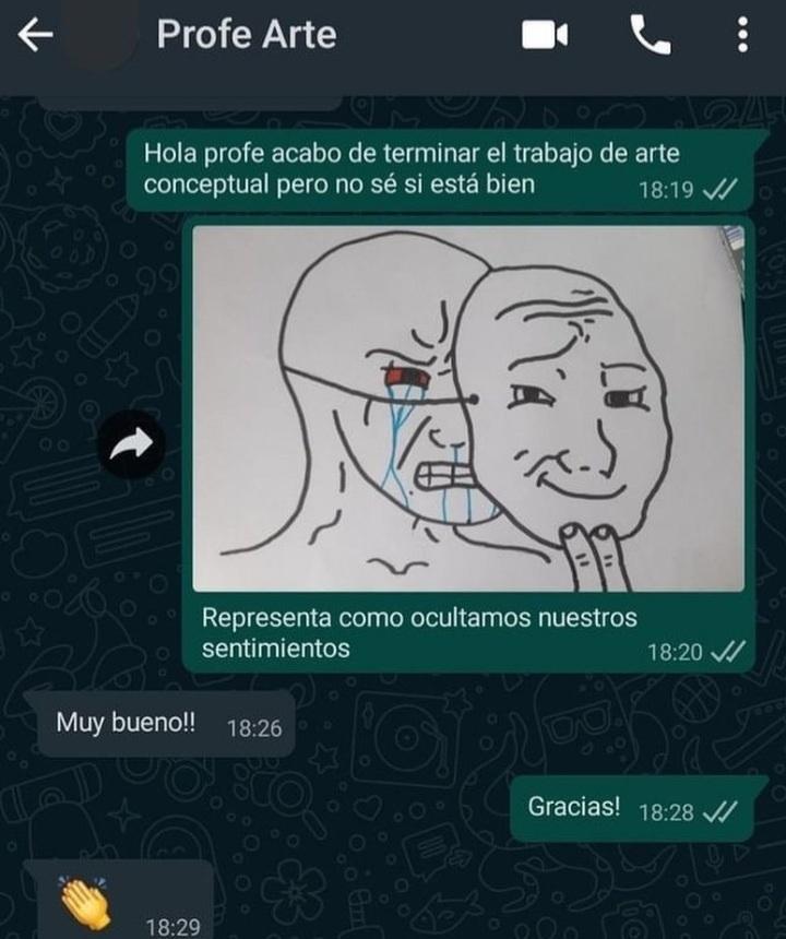 Life hack clases virtuales - meme
