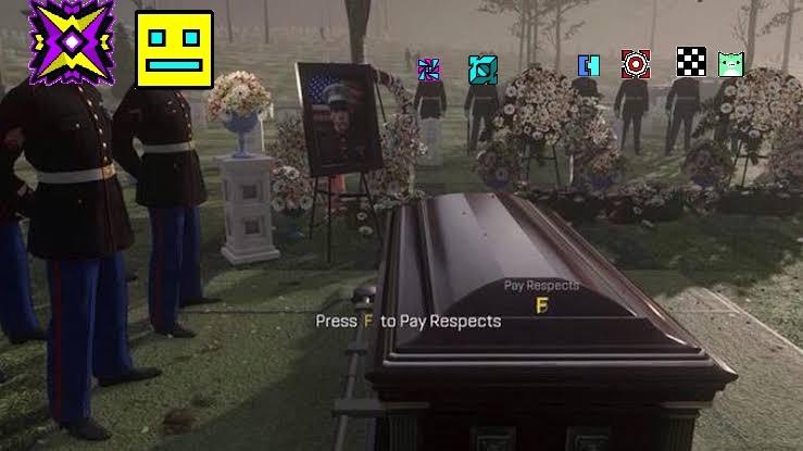 F por michigun - meme