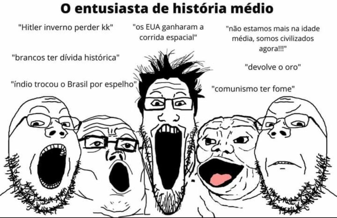 Hurr Hitler burro morreu frio - meme