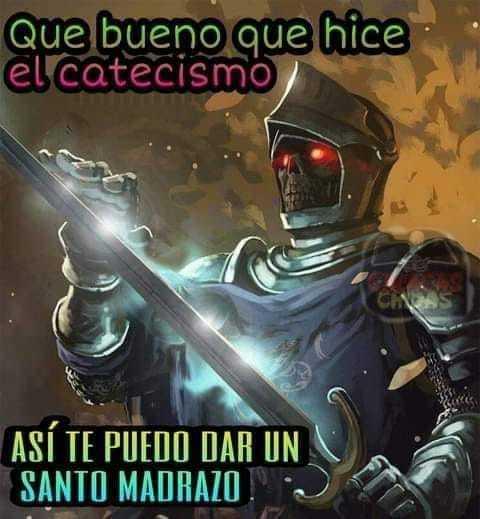 SANTO PUTAZO - meme