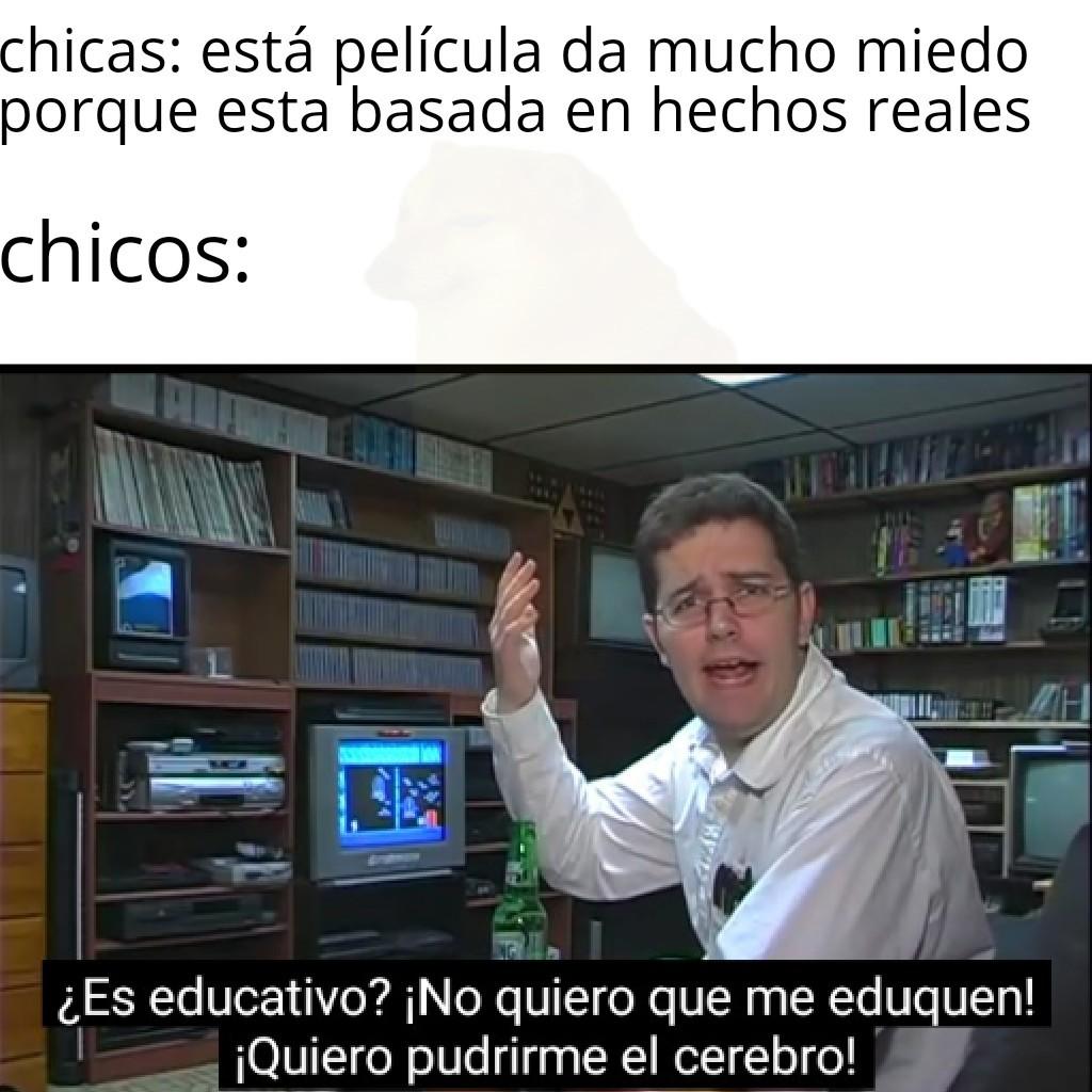 Momento educación - meme