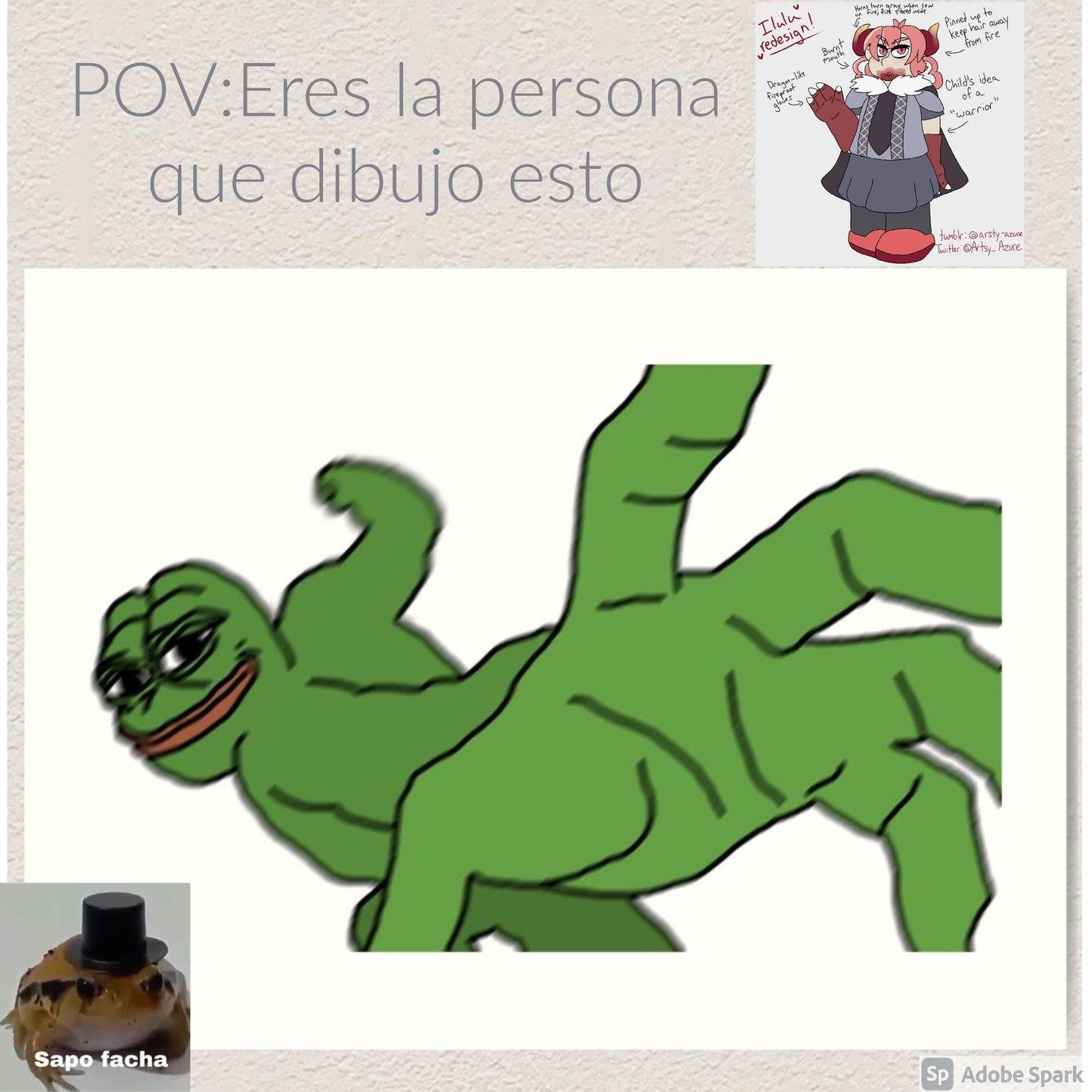 Mi primer POV - meme