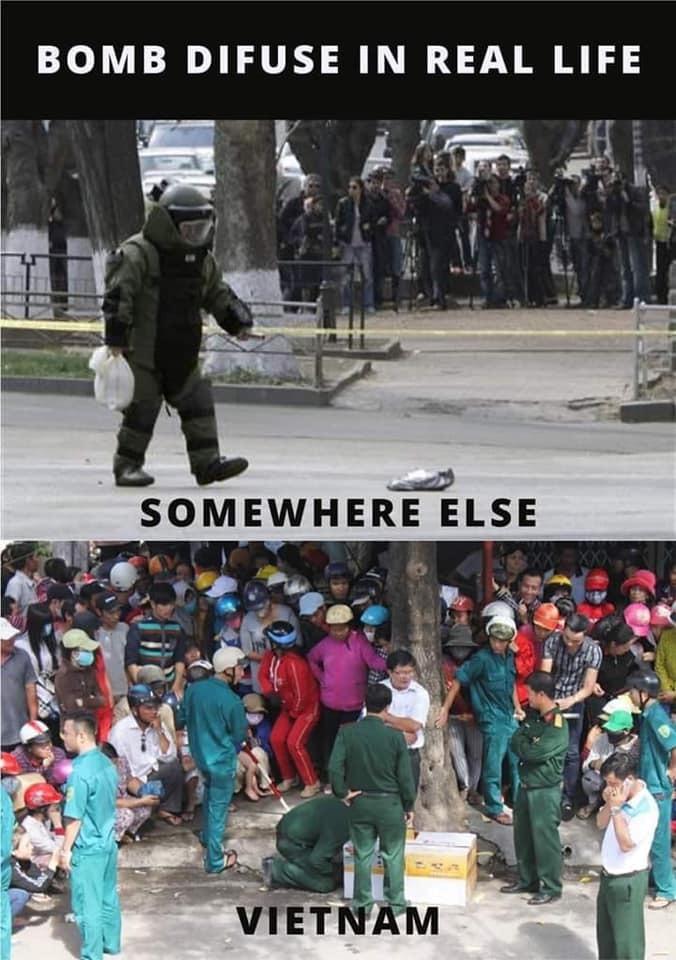 Vietnam has curious people - meme
