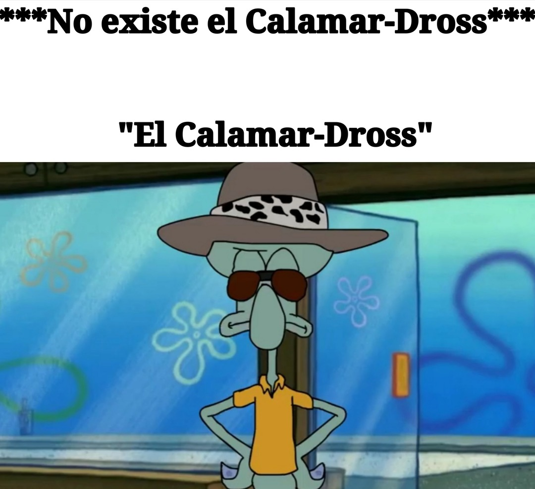 El Calamar-Dross *existe * - meme