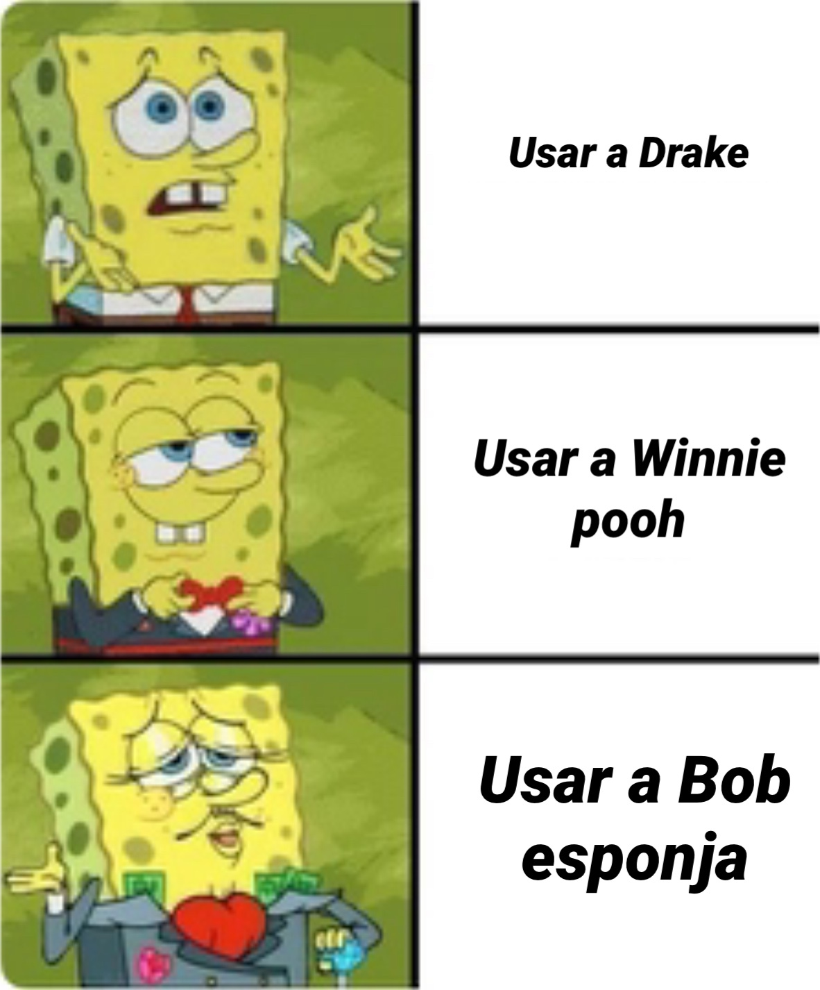Bob esponja - meme