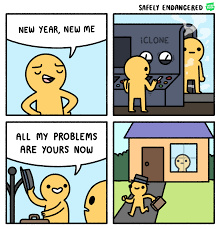 Would've been higher quality but my impatience didn't want it to load all the way. Happy new year, everyone - meme