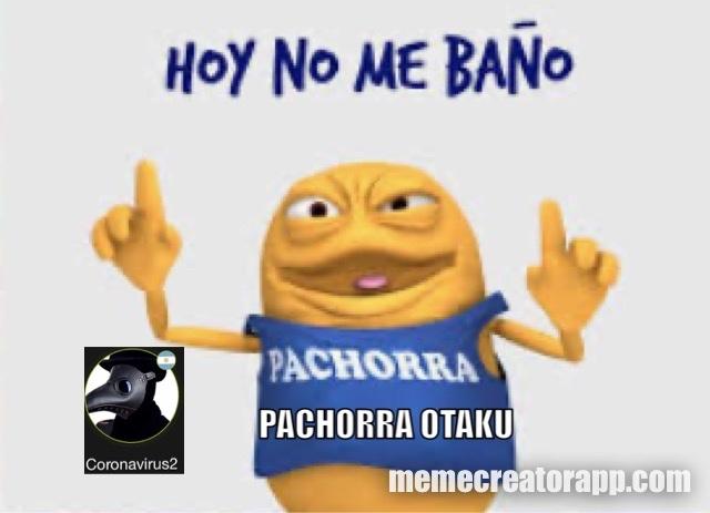 noooo pachorra que hiciste     #teampachorra - meme