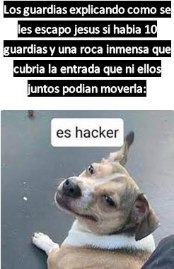 es hacker - meme