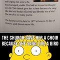 Brenda was a bird